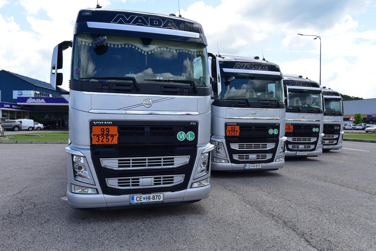 Volvo FH500 I-Save troši pet litara manje nego drugi kamioni