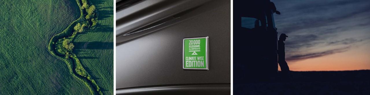 Kamioni Climate Wise Edition stvaraju manje emisija CO2.