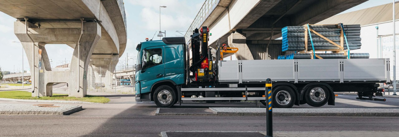 Odaberite svoj Volvo FM iz široke ponude raznih rasporeda osovina, osovinskih razmaka i visina šasije za vaše potrebe.